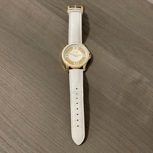 Authentic Dolce & Gabbana White Leather Watch